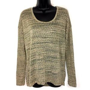 KUT FROM THE KLOTH S pullover sweater gold stripe